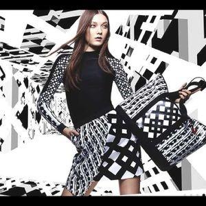 Peter Pilotto for Target printed cloqué skirt